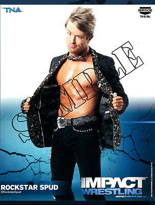 Official TNA Impact Wrestling - Spud - 8x10 - P14-03