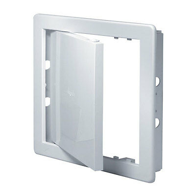 White Access Panel 200mm x 200mm Plastic Wall Revision Door Inspection Hatch