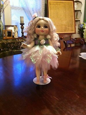 Adora Fairy Belle Porcelain Doll Marie Osmond With Stand And COA And Box