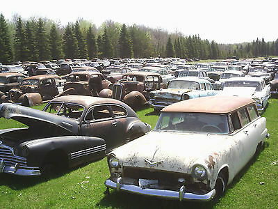 Vintage Car and Truck Collection 500 Vehicles Bush and Barn Finds
