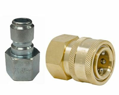 """3/8"""" Quick Connect Fittings for Pressure Washer Hose"""