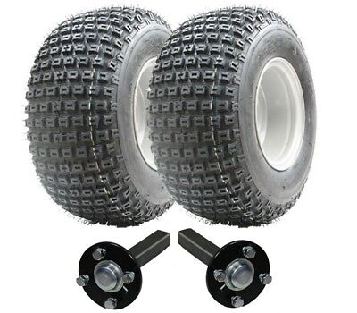 ATV trailer kit - Quad trailer - wheels + hub / stub, No Hitch 200kg