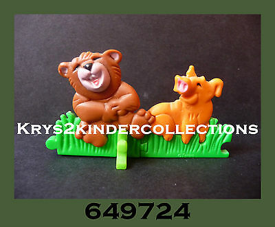 Jouet kinder Puzzle 3D Animaux Molly & Pike 649724 Allemagne 1994