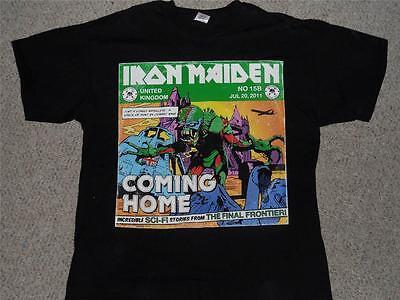 Iron Maiden Final Frontier UK event shirt MINT size extra large