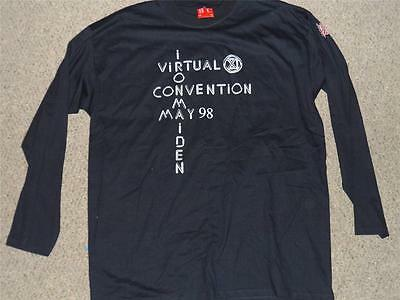 Iron Maiden RARE Virtual XI Fan Club Convention shirt may 98 size extra large