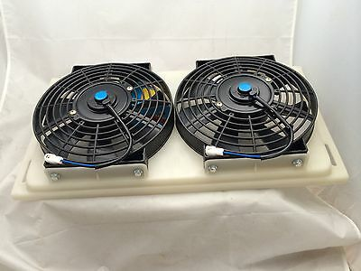 Thermo Electric Twin fan set with FREE RELAY