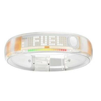 Nike+ FuelBand WHITE ICE Clear Size: Small Medium Large X Large S M L XL