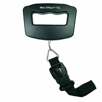 50kg /110 lb x 10g Digital Travel luggage Scale Hanging Scale with Strap-Audio