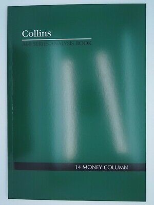 Collins A60 14 Money Column Account Book 120P A4 10314