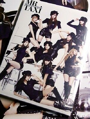 SNSD GIRLS GENERATION Mr. Taxi 3rd Album Repackage CD No Photo Card