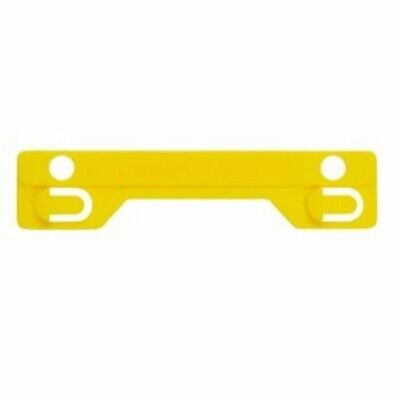 Avery Yellow Tubeclip® File Fastener Compressor Bar 25/Pack 44008Y