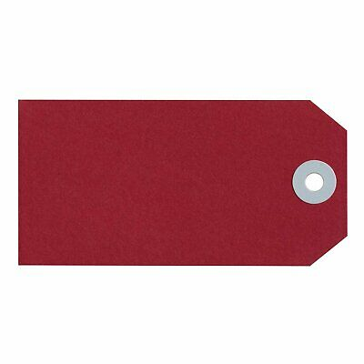 Avery Red Manilla Shipping Tags 120x60mm Size 5 1000/Box - 15110