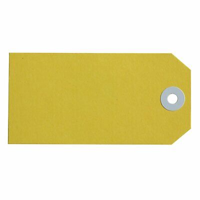 Avery Yellow Manilla Shipping Tags 160x80mm Size 8 1000/Pack - 18140