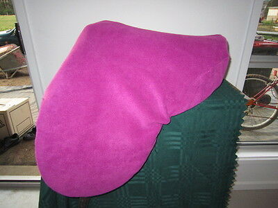 Horse Saddle cover Pink with FREE EMBROIDERY Australian Made Protection