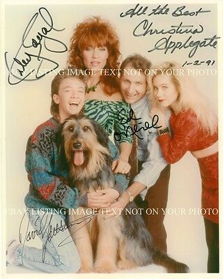 MARRIED WITH CHILDREN FULL CAST AUTOGRAPHED 8x10 RP PHOTO KATEY SAGAL BUNDYS