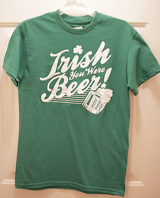 Irish you were beer small t shirt