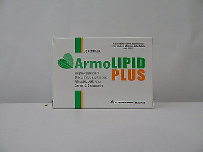 Armolipid Plus Integratore Per Il Controllo Del Colesterolo 20 Cpr