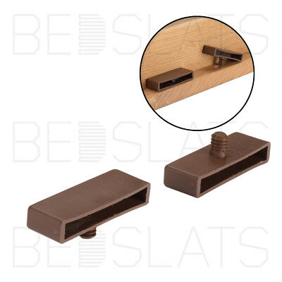 Sprung Bed Slat Holders 63mm x 8mm One Peg Wooden Bed
