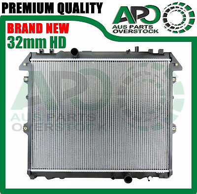 Premium Radiator For TOYOTA HILUX KUN16R KUN26R 3.0L Turbo Diesel Manual 2005-On