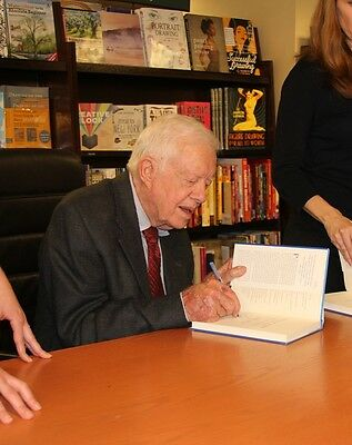 President Jimmy Carter signed Book A Call to Action 1st Printing