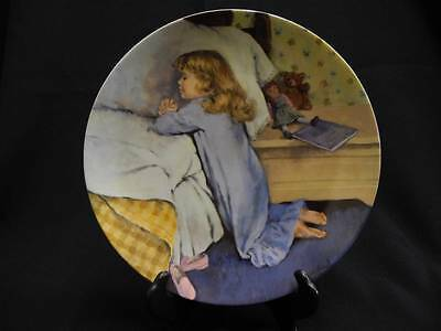 1987 Knowles RECO Evening Prayer John McClelland Becky's Day Collection Plate