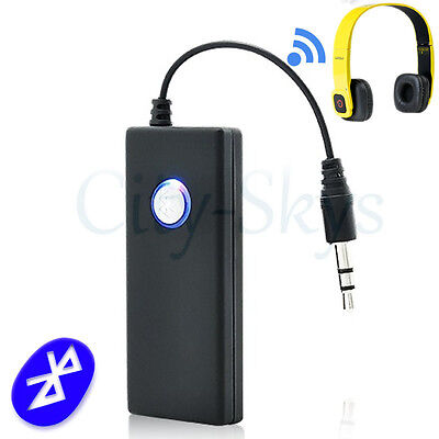Wireless Bluetooth Transmitter 3.5mm Jack AUX Music Audio Stereo Adapter Dongle