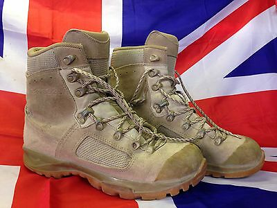 Genuine British Army Lowa Elite Desert Assault/Combat Boots Grade 1 & 2