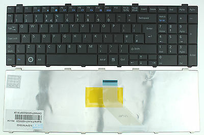 New Fujitsu Lifebook Ah530 Ah531 Nh751 A530 Keyboard Uk Layout Cp478133-02 F57