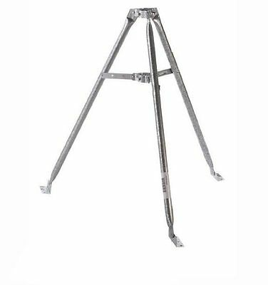 Eagle 3' FT Satellite / Antenna Tripod Mount Fits Up to 2 Inch Pipe Heavy Duty