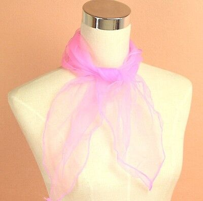 50s PINK LADY NECK SCARF GREASE HEN NIGHT PARTY,TIE FANCY DRESS ACCESSORY GIFT