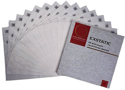 Goldring Exstatic Record Sleeves (25 PACK)