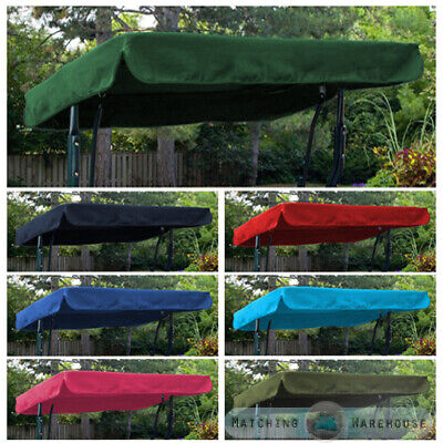 Replacement Canopy for Swing Seat Garden Hammock 2 & 3 Seater Sizes Spare Cover