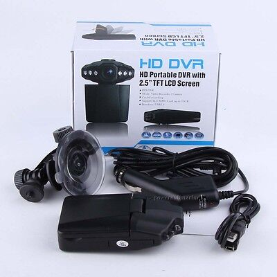 """Lcd Night Vision Cctv In Car Dvr Accident Camera Video Recorder 1280P Hd 2.5"""""""