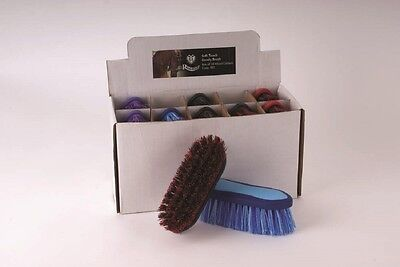 Soft Touch Dandy Brush - Horse/Rider Equipment Grooming Kit/Products