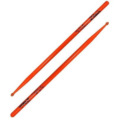Zildjian Ronald Bruner Orange Drumsticks - FREE U.S. Shipping Temptations ASRB