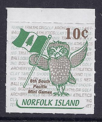2001 NORFOLK ISLAND LOCAL POST BOOKLET STAMP 10c SOUTH PACIFIC MINI GAMES MINT