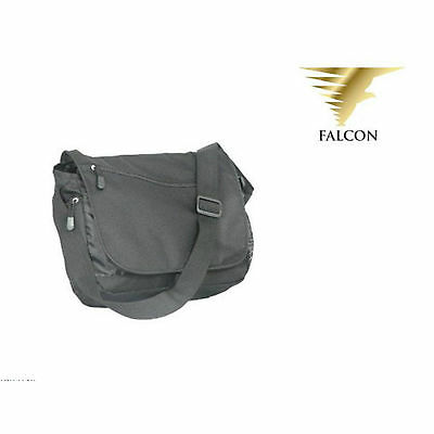 Falcon 13.3'' Padded Messenger Bag with Carry Handle for Laptop iPad Tablet