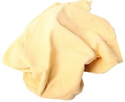 6.5 Sq Ft Genuine Whole Sheepskin Best Quality Oil Tanned Chamois Shammy Leather