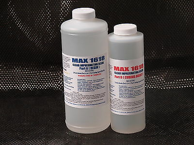 Hobby & Crafts Clear Casting Embedding Doming Coating Glue Epoxy Resin 48 Oz.kit
