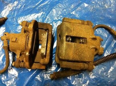 MGF / MG TF - FRONT BRAKE CALIPERS - PAIR - Inc. carriers, hoses, pads