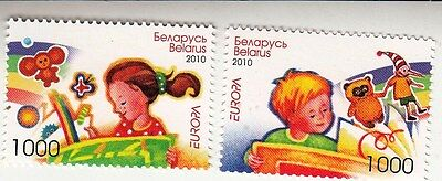 Belarus 2010 Mi. # 802-3 EUROPA CEPT Children Picture set 2stamps MNH