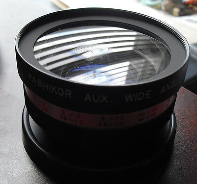 Yashikor Aux Wide Angle Camera Lens 1:4 Y109 Japan