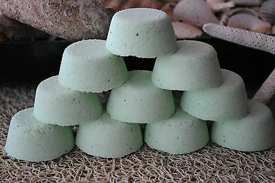 COCONUT LIME Aromatherapy Bath Bombs with Coconut Oil GIFT PACK OF 10