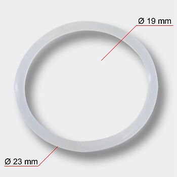 TTSpare Part SunSun HW-303 Inlet and Outlet Adapter O-Ring Ø 26mm Ext. Filter