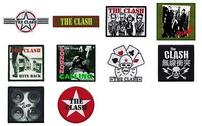 Clash Sew On Patch/Patches NEW OFFICIAL Choice of 10 designs