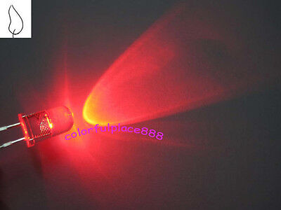 50pcs, 5mm Red Candle Flicker Ultra Bright Flickering LED Leds Light Lamp New