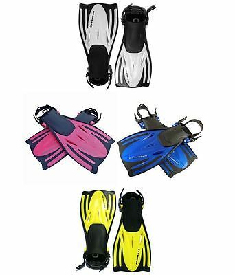 Child Adult Typhoon Tjet Fins Flippers Snorkelling Scuba Diving Travel Fins
