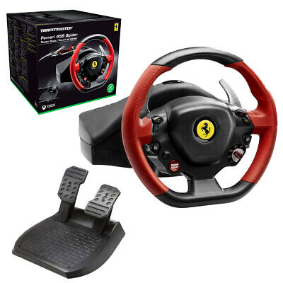 Thrustmaster Ferrari 458 Spider Racing Wheel for Xbox One NEW