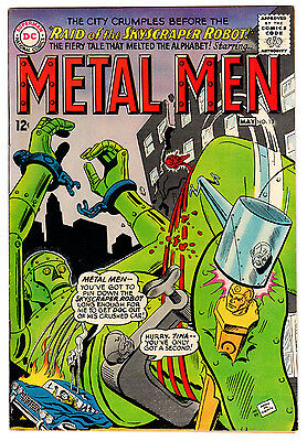 Metal Men #13 7.0 Cream To Off-White Pages Silver Age
