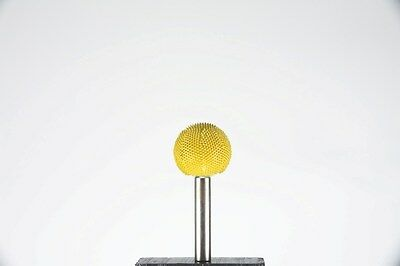 Sphere 14S1Y 1 Inch 1 Inch Yellow 1/4 inch shaft